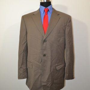 Pronto Uomo 46L Sport Coat Blazer Suit Jacket Gray